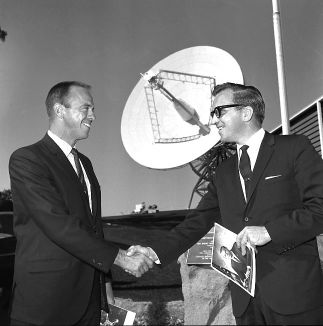 Alan Shepard and Tom Reid