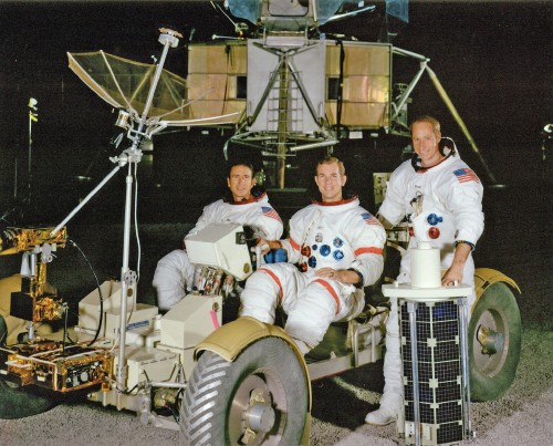 The Apollo 15 crew