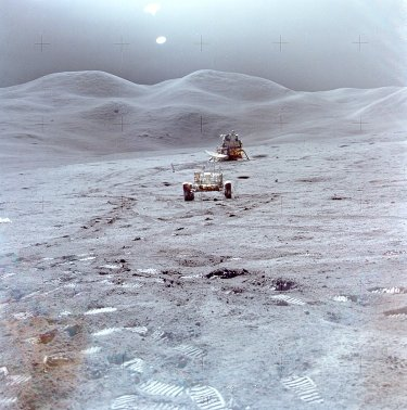 Apollo 15's landing site