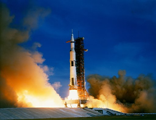 Apollo 15 launch