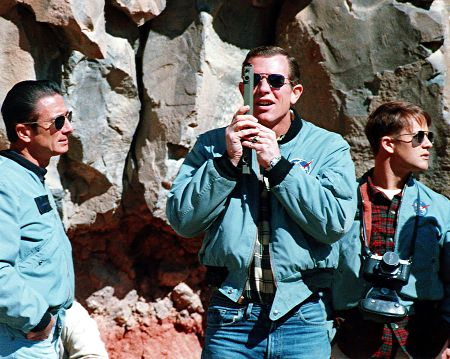 Apollo 15 crew geology training