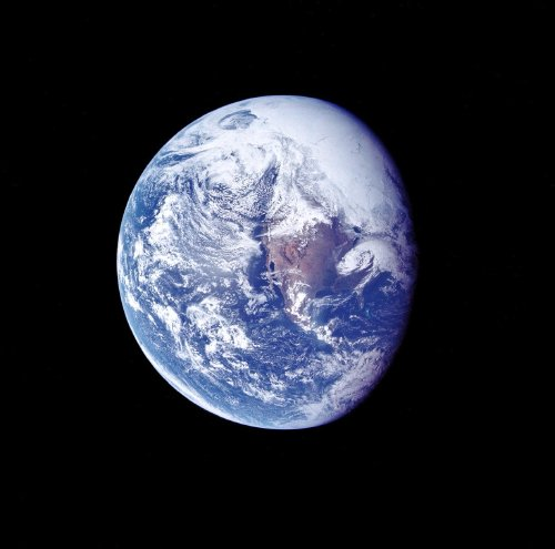 The Earth from Apollo 16