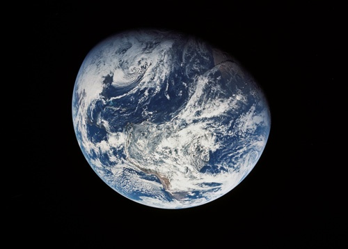 The Earth from Apollo 8