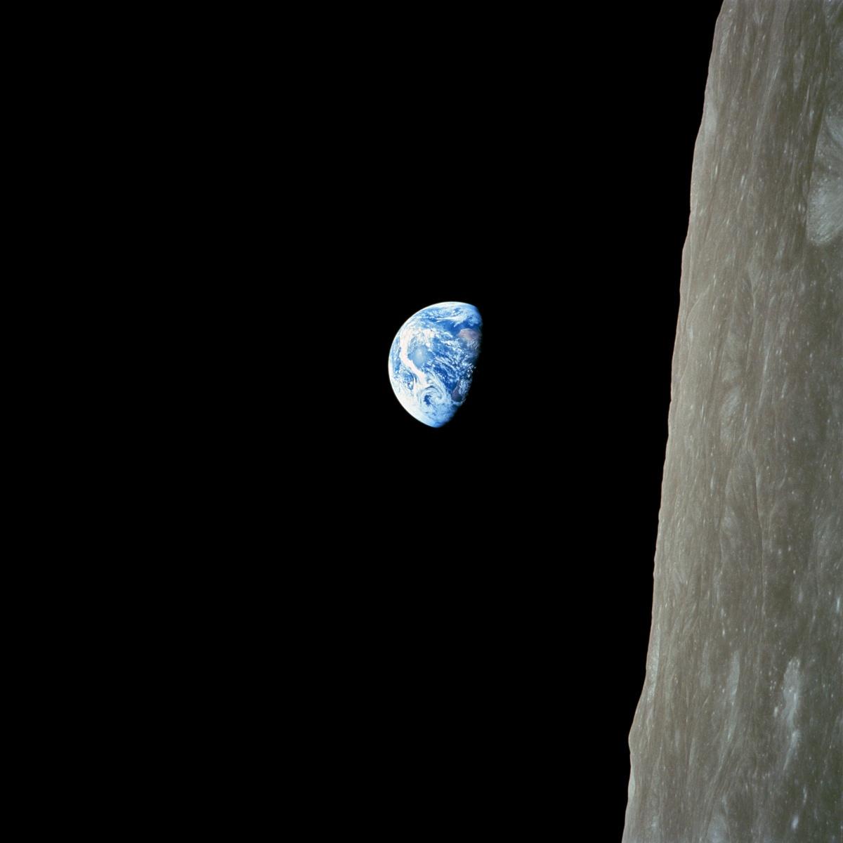 apollo 8 earthrise over moon - photo #9