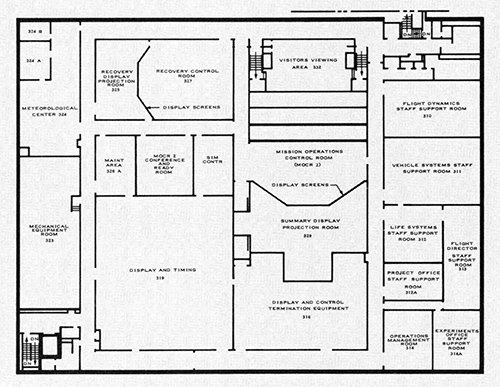 Plan of MCC 3rd floor