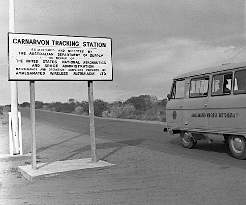 Entry to Carnarvon Tracking Station