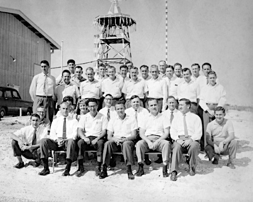Muchea staff photo 1962