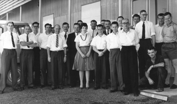 Muchea staff photo 1961