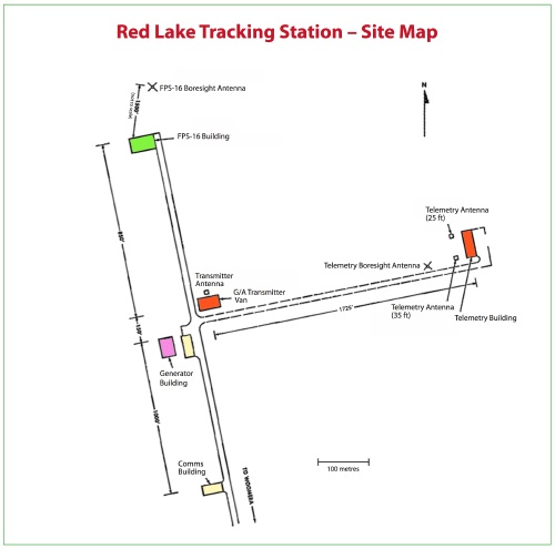 Red Lake site map