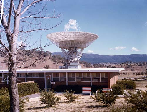 DSS-43 at Tidbinbilla