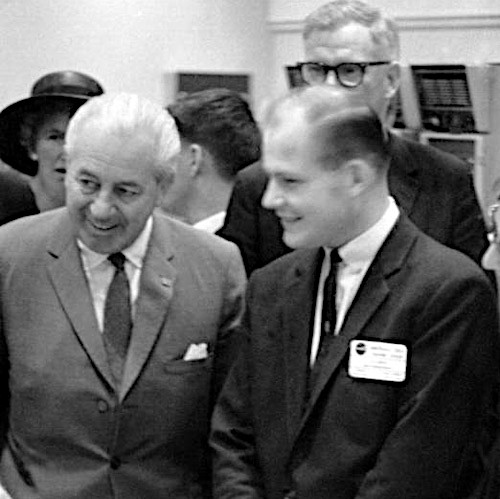 with PM Harold Holt