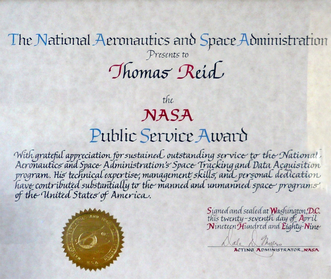 NASA Awards (page 3) - Pics about space