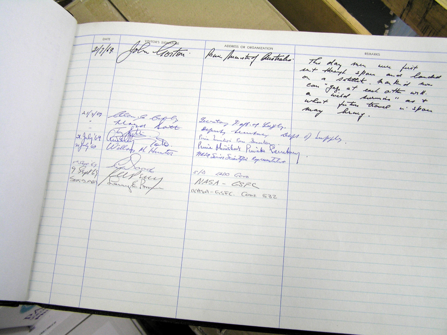 Visitor Books | Our simplest method to control your Visitors